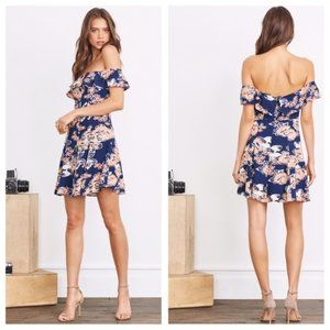 Lovers and Friends Vineyard Off-The-Shoulder Dress
